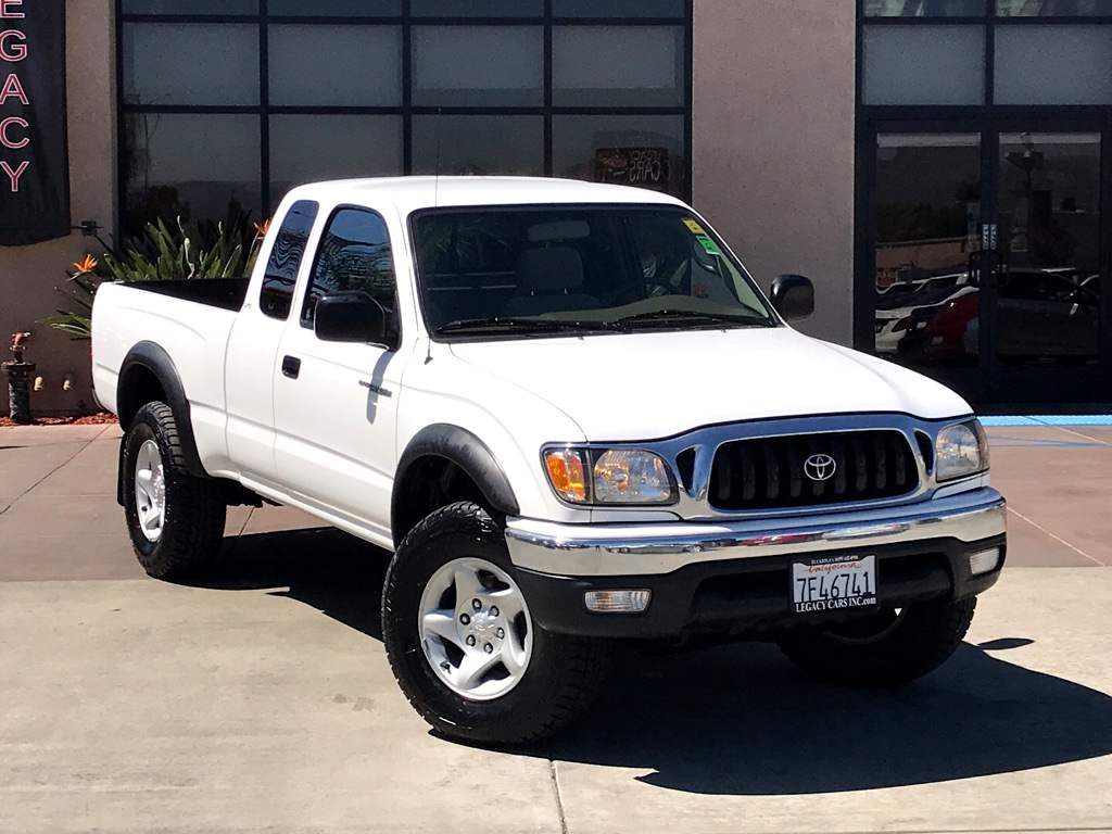 Sold 2003 Toyota Tacoma V6 Xtra Cab 4x4 Manual Trd Off Road In El Cajon