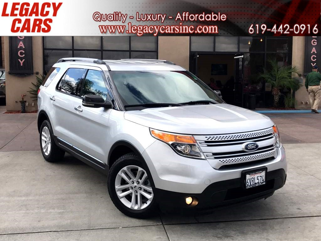2013 Ford Explorer XLT ECOBOOST 3RD ROW w/Backup Camera/Leather