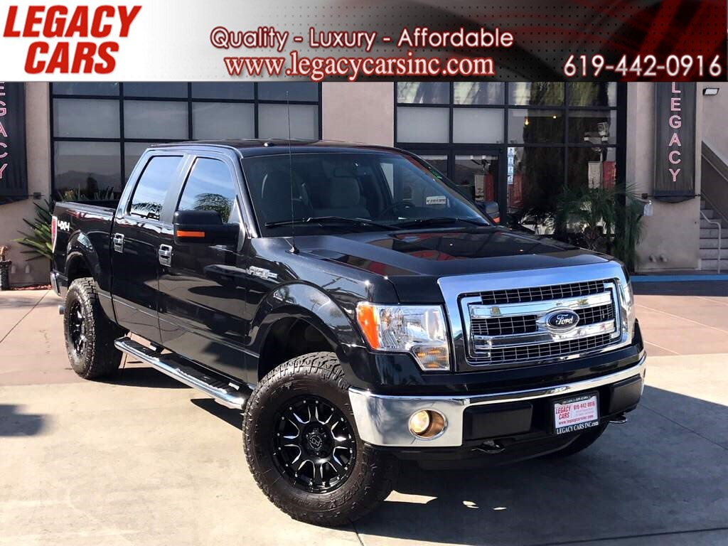 2014 Ford F-150 XLT 4x4 V8 CREW CAB LIFTED