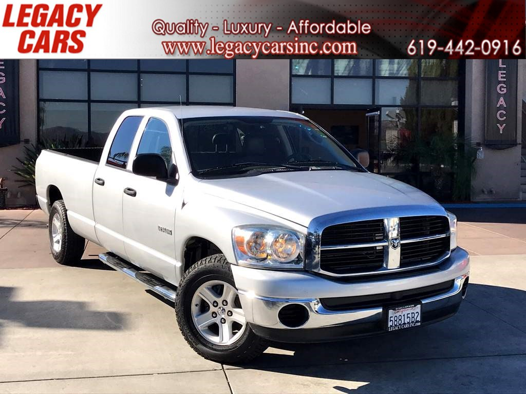 2008 Dodge Ram 1500 SLT Quad Cab L/B Low Miles