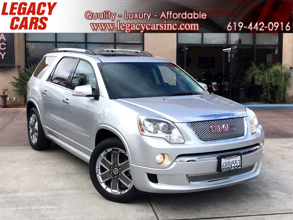 2011 GMC Acadia Denali w/Nav/Sunroof/DVD 3RD ROW