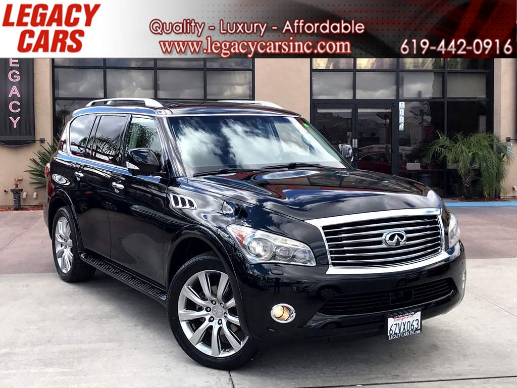 2013 INFINITI QX56 TECHNOLOGY W/ THEATER PKG