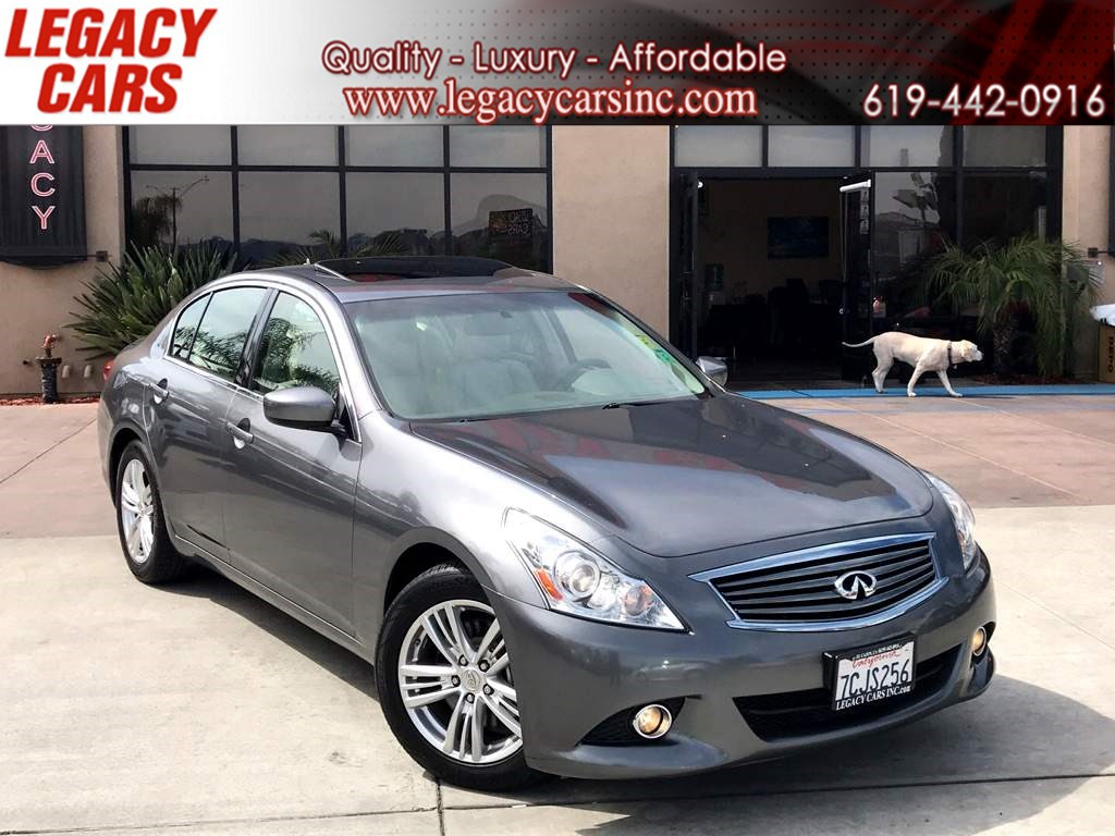 2013 INFINITI G37 Sedan Journey Premium Pkg w/Nav/Sunroof