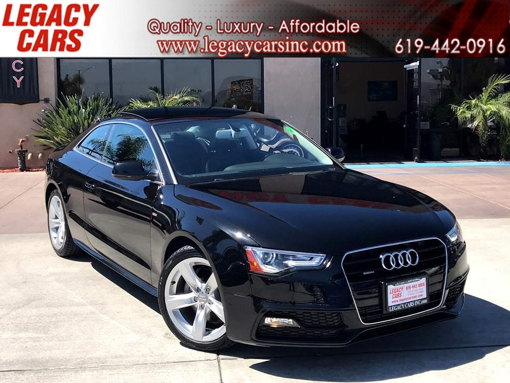 2015 Audi A5 2.0T Premium Plus w/TECHNOLOGY PACKAGE