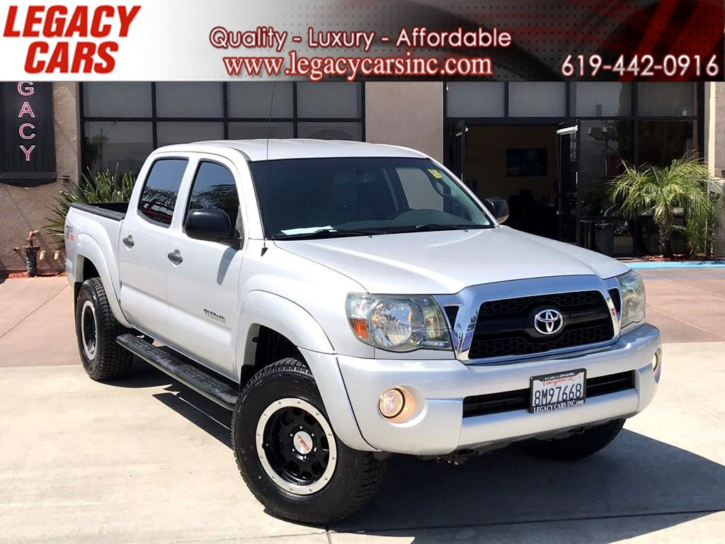 2011 Toyota Tacoma PreRunner V6 DOUBLE CAB TRD OFF ROAD W/PRO PACKAGE