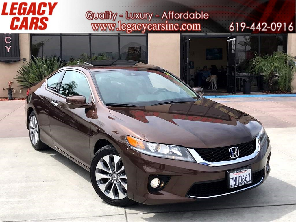 2015 Honda Accord Coupe EX-L LOW MILES W/ BACK UP CAMERA / LEATHER SEATS