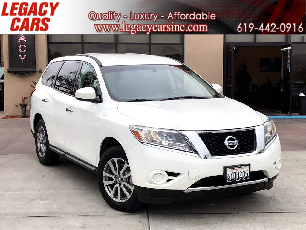 2013 Nissan Pathfinder S 3RD ROW