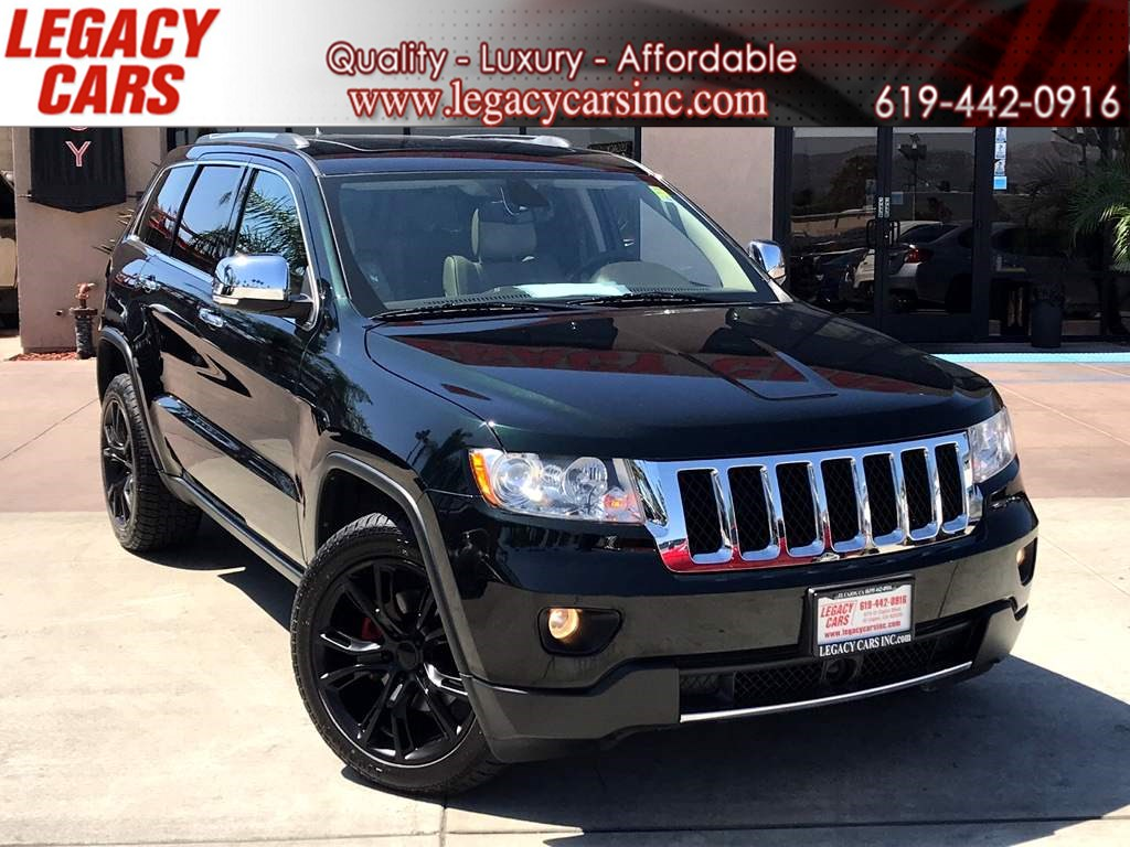 2013 Jeep Grand Cherokee Overland LOADED w/ Nav Pano Sunroof