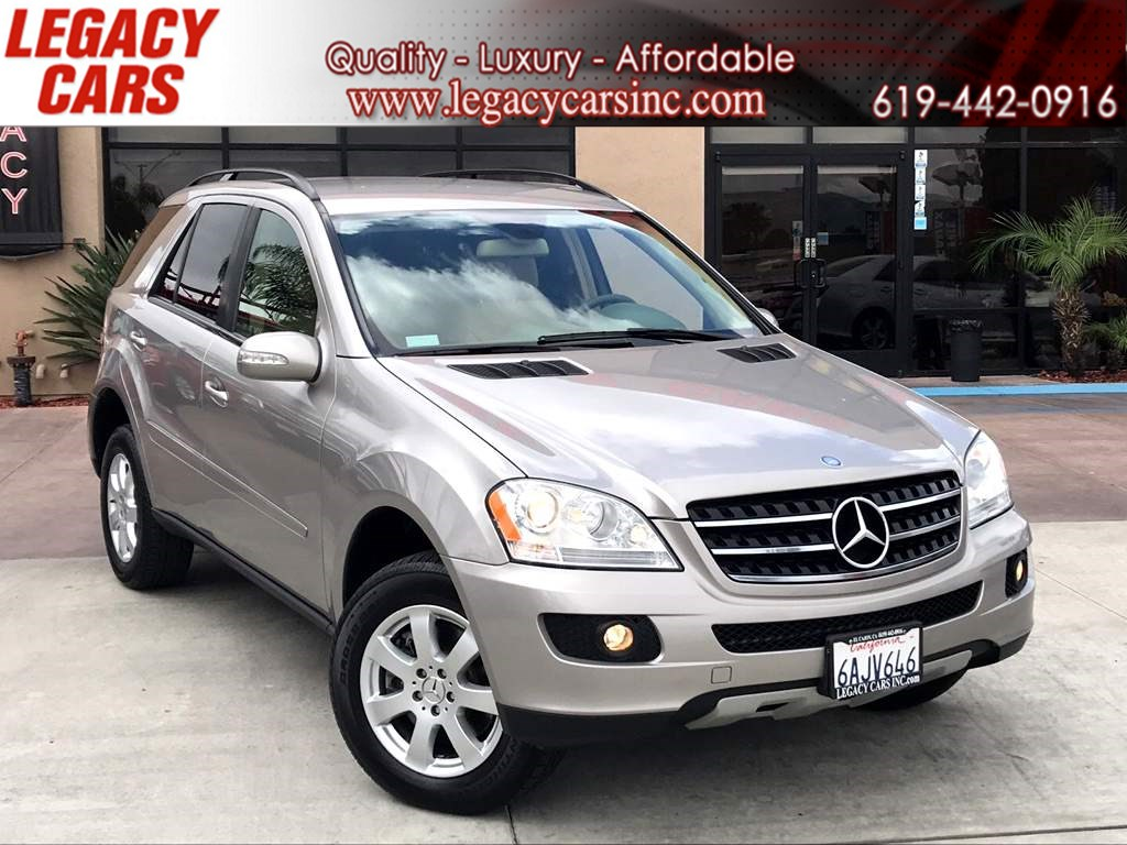 2007 Mercedes-Benz ML350 AWD w/Leather 1 OWNER LOW MILES
