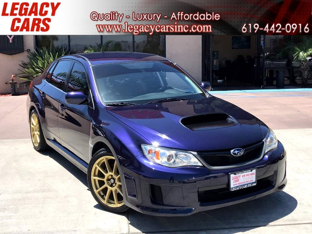 2012 Subaru Impreza Sedan WRX 5-Speed Manual w/Bluetooth LOW MILES