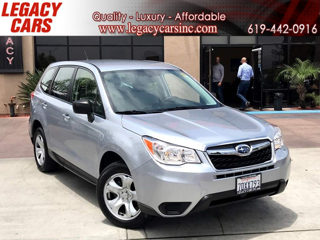 2015 Subaru Forester 2.5i AWD w/Backup Camera/Bluetooth 1-Owner