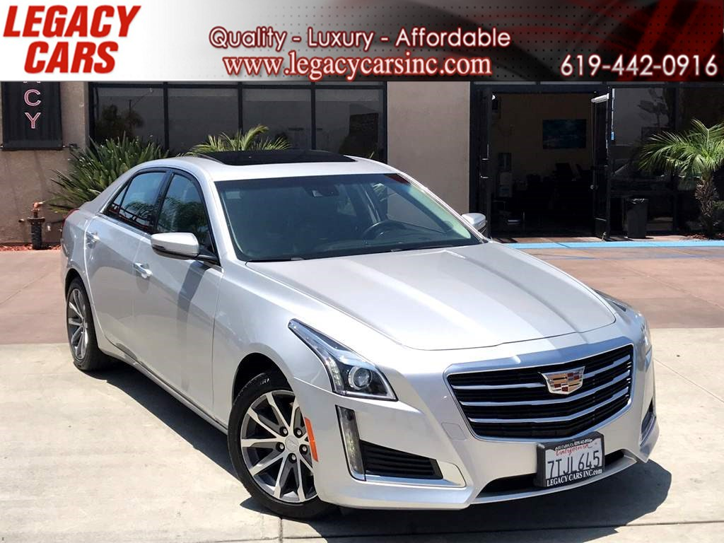 2016 Cadillac CTS Sedan Luxury Collection w/Nav/Sunroof LOW MILES
