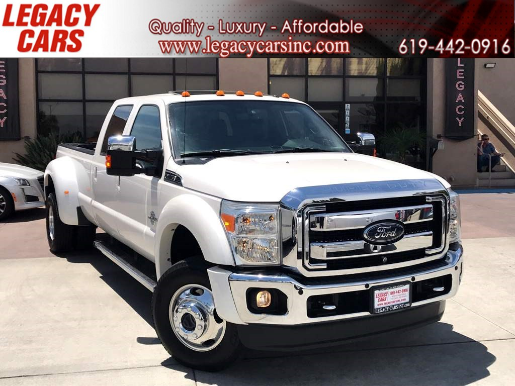 2012 Ford Super Duty F-450 DRW Lariat 4x4 Crew Cab Long Bed Dually