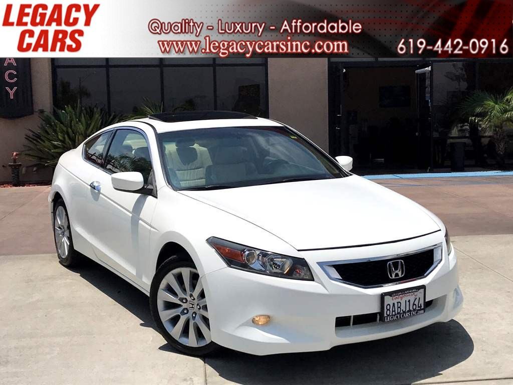 2010 Honda Accord Cpe EX-L V6 w/Sunroof/Leather