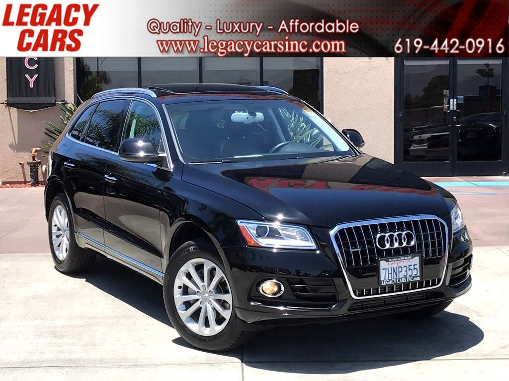 2015 Audi Q5 2.0T quattro Premium Plus W/ PANORAMIC ROOF