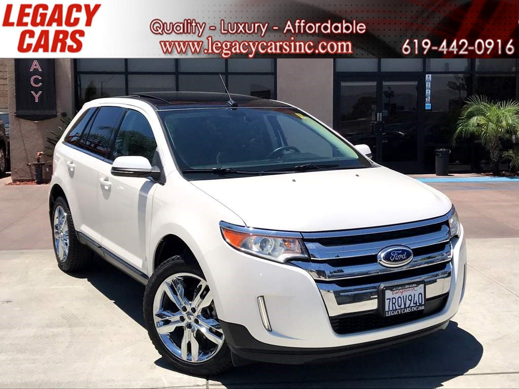 2014 Ford Edge Limited w/Nav/Pano Sunroof
