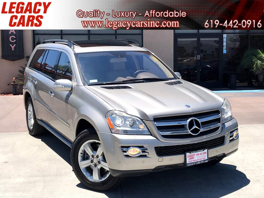 2008 Mercedes-Benz GL 450 4MATIC Premium Pkg w/Nav/Sunroof/DVD 3RD ROW