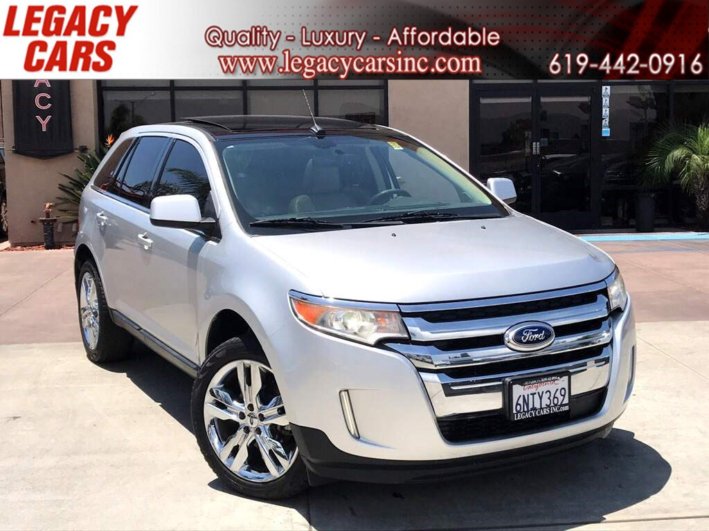 2011 Ford Edge Limited w/Nav/Pano Sunroof