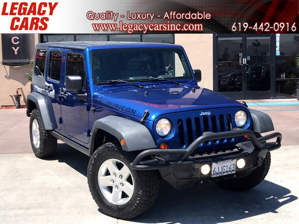 2009 Jeep Wrangler Unlimited Rubicon 4x4 Hard Top w/Nav