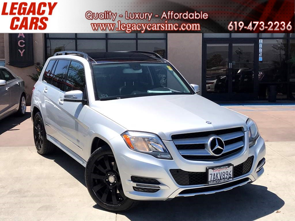 2013 Mercedes-Benz GLK 350 4MATIC w/Pano Sunroof