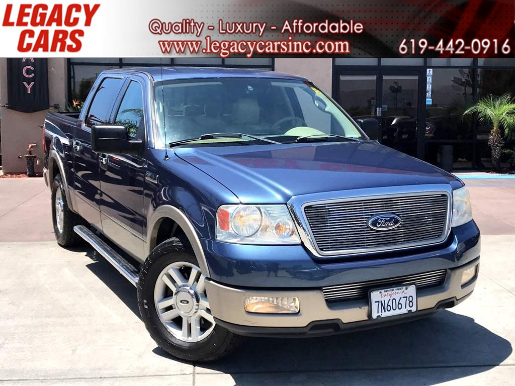 2004 Ford F-150 Lariat w/Leather CREW CAB