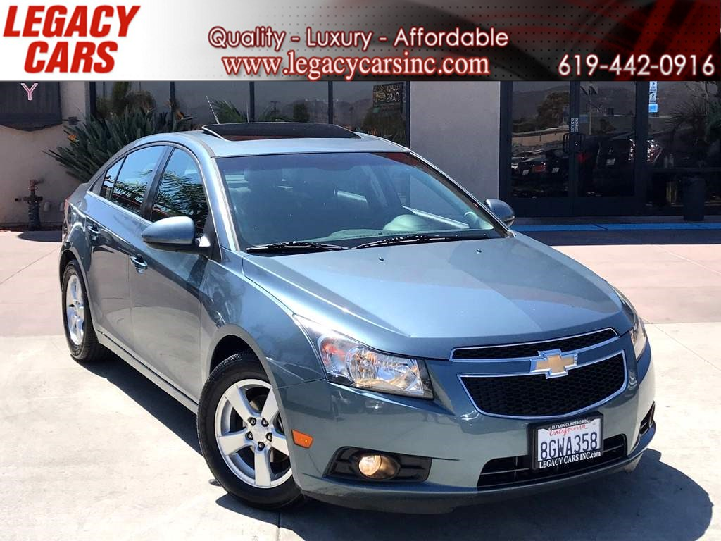2012 Chevrolet Cruze LT w/Sunroof