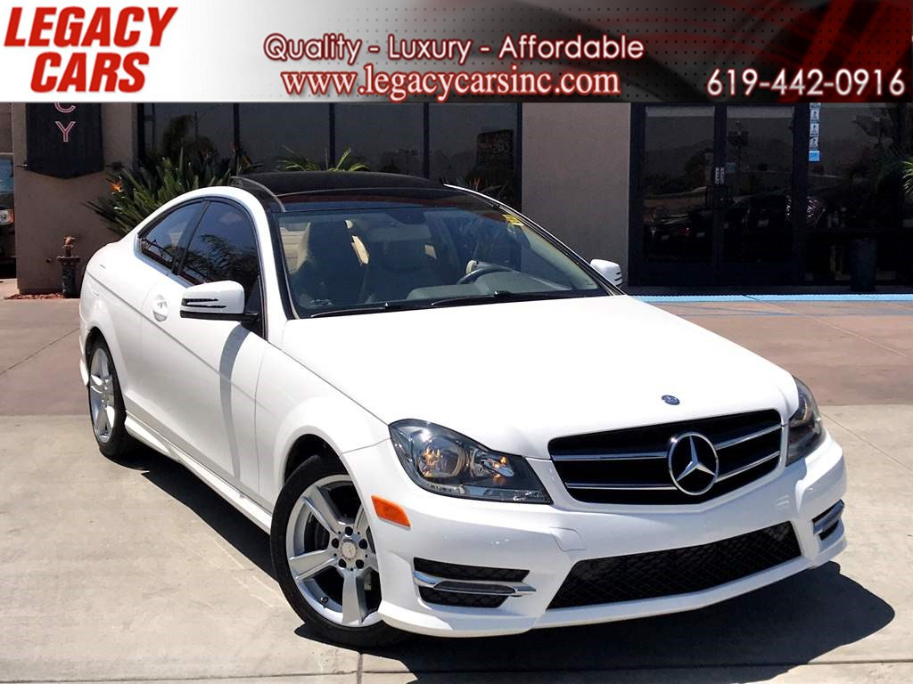 2015 Mercedes-Benz C 250 Sport Pkg w/Pano Sunroof LOW MILES