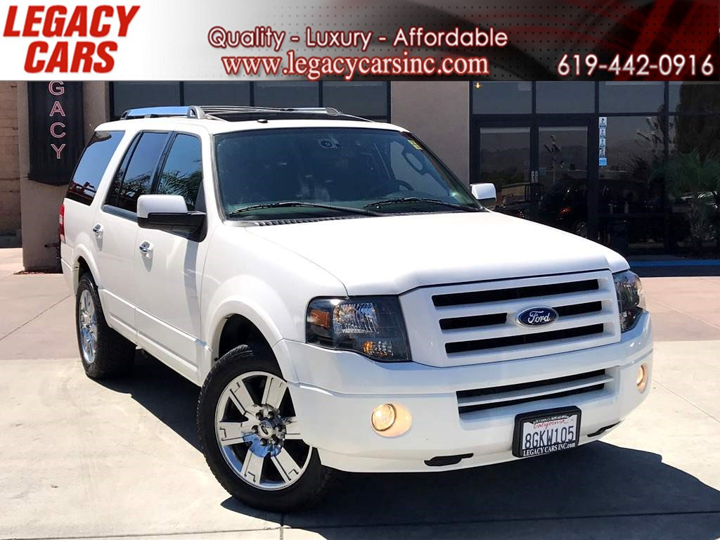 2010 Ford Expedition Limited w/Sunroof 3RD ROW