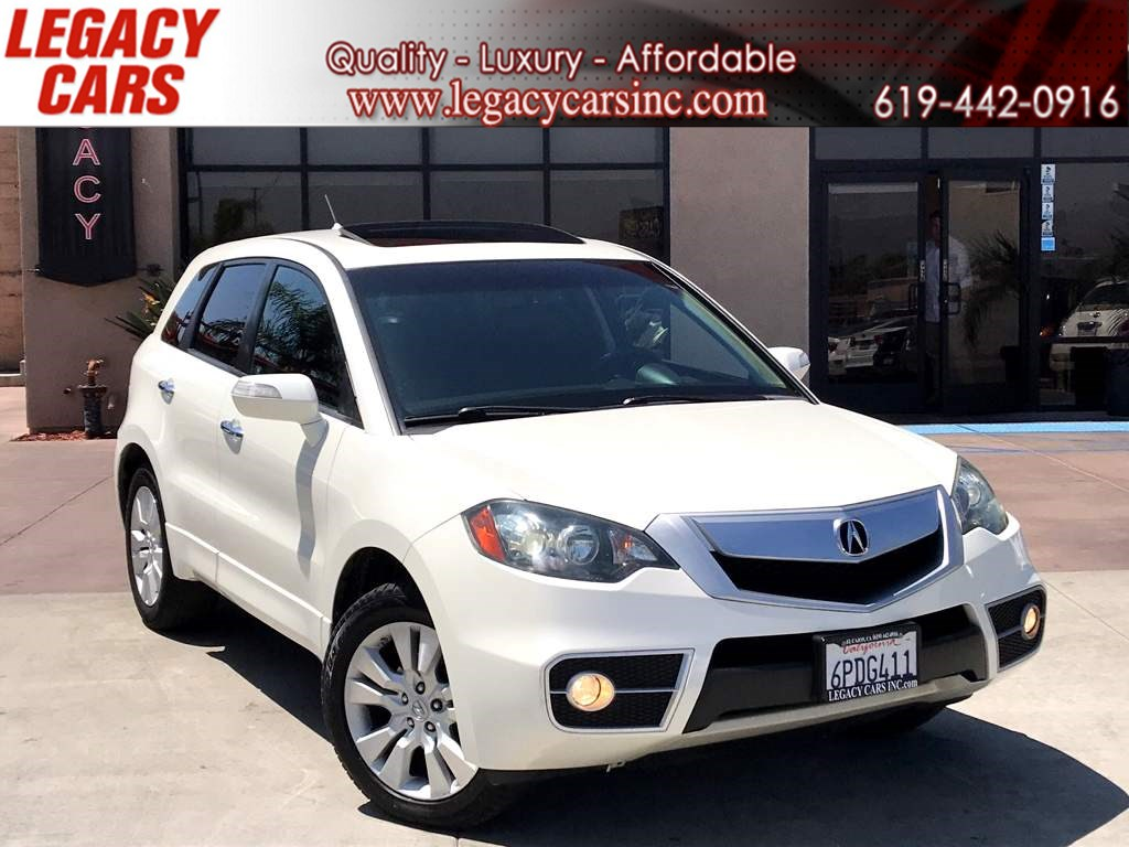 2011 Acura RDX w/Sunroof/Backup Camera