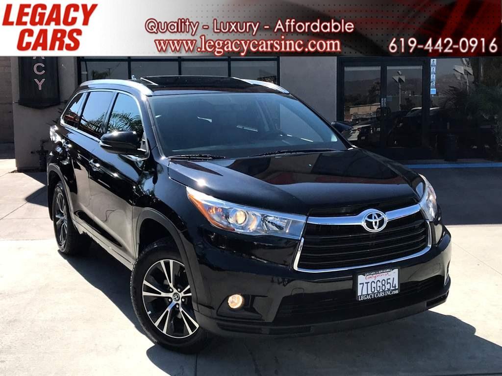 2016 Toyota Highlander XLE AWD w/ 3RD ROW SEATS/NAV/BACK-UP CAMERA