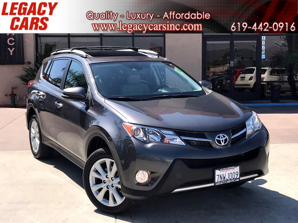 2015 Toyota RAV4 Limited w/NAV/BACK-UP CAMERA/SUNROOF
