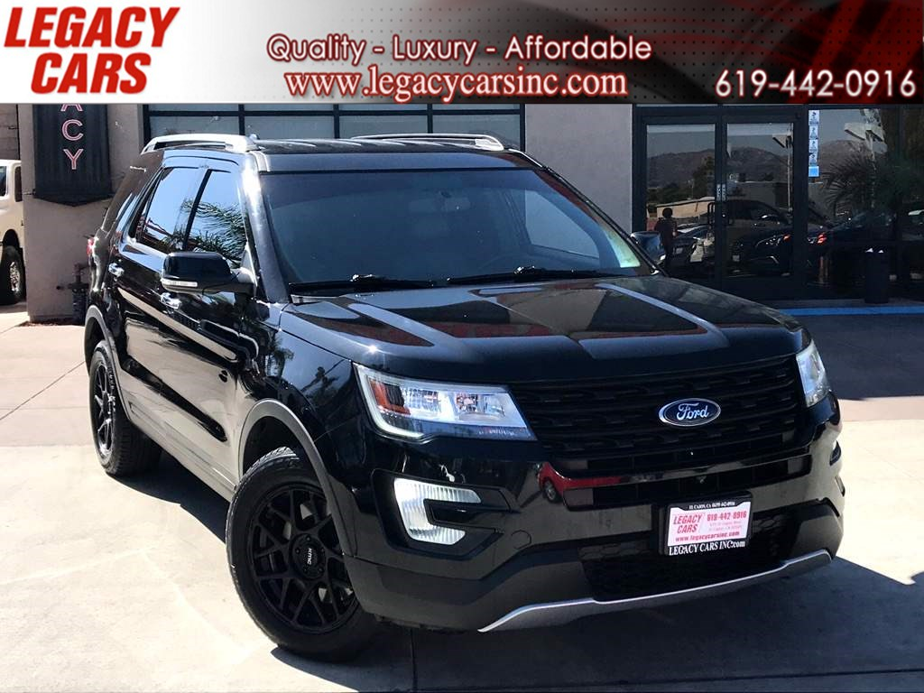 2016 Ford Explorer Limited 4WD w/NAV/BACK-UP CAM/3RD ROW SEATS