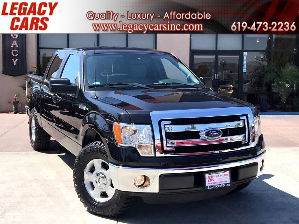2014 Ford F-150 XLT ECOBOOST Crew Cab LOW MILES