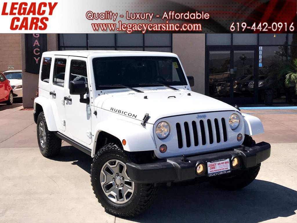 2015 Jeep Wrangler Unlimited Rubicon 4WD w/REMOVABLE TOP