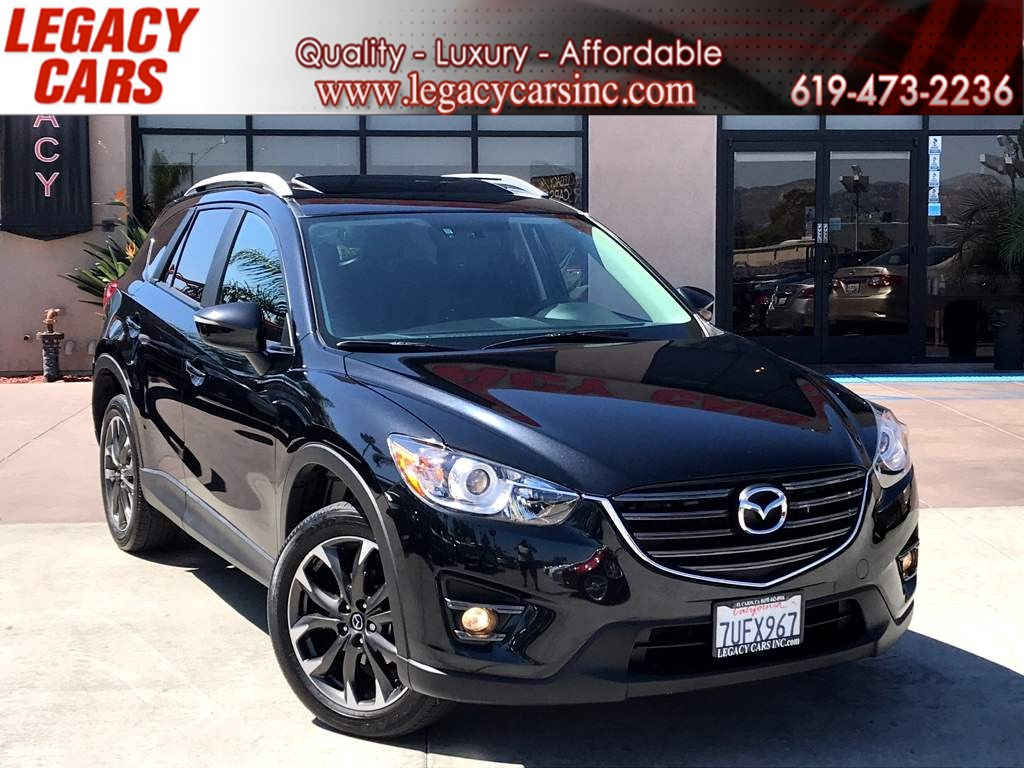 2016 Mazda CX-5 Grand Touring AWD w/Nav/Sunroof