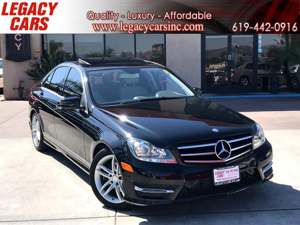 2014 Mercedes-Benz C 250 Sport w/SUNROOF
