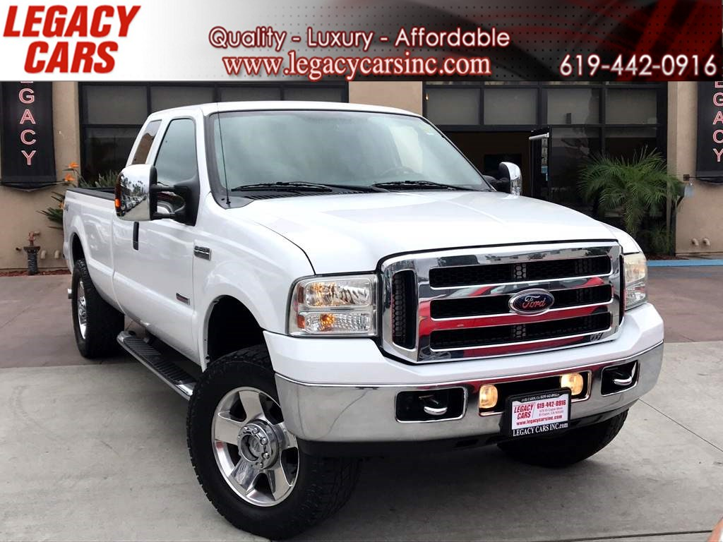 2007 Ford Super Duty F-250 Lariat 4x4 w/Backup Camera Super Cab