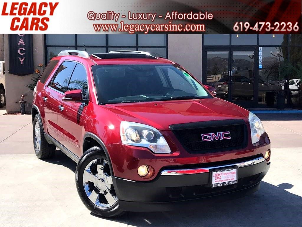 2009 GMC Acadia SLT1 w/Nav/Sunroof/DVD 3RD ROW