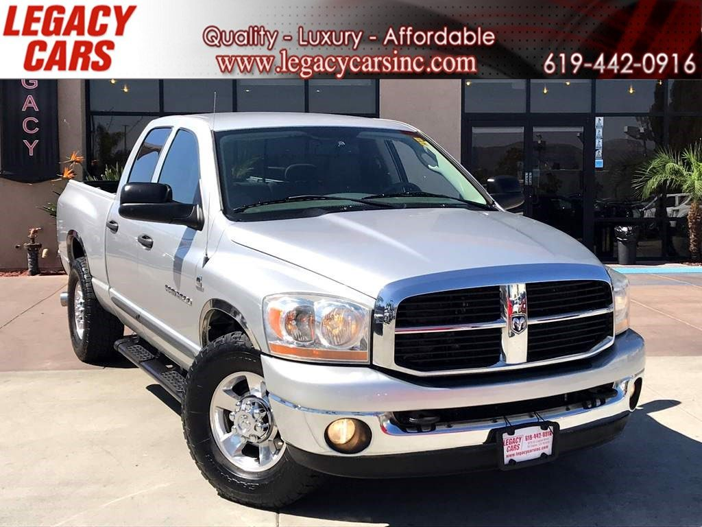 Sold 2006 Dodge Ram 2500 Slt Heavy Duty W Cummins Turbo Diesel Engine In El Cajon