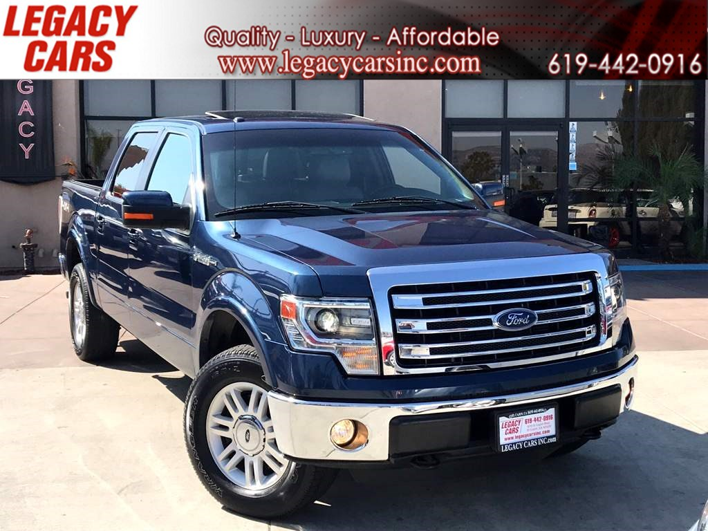 2014 Ford F-150 Lariat 4x4 w/BACK-UP CAM/SUNROOF/NAV