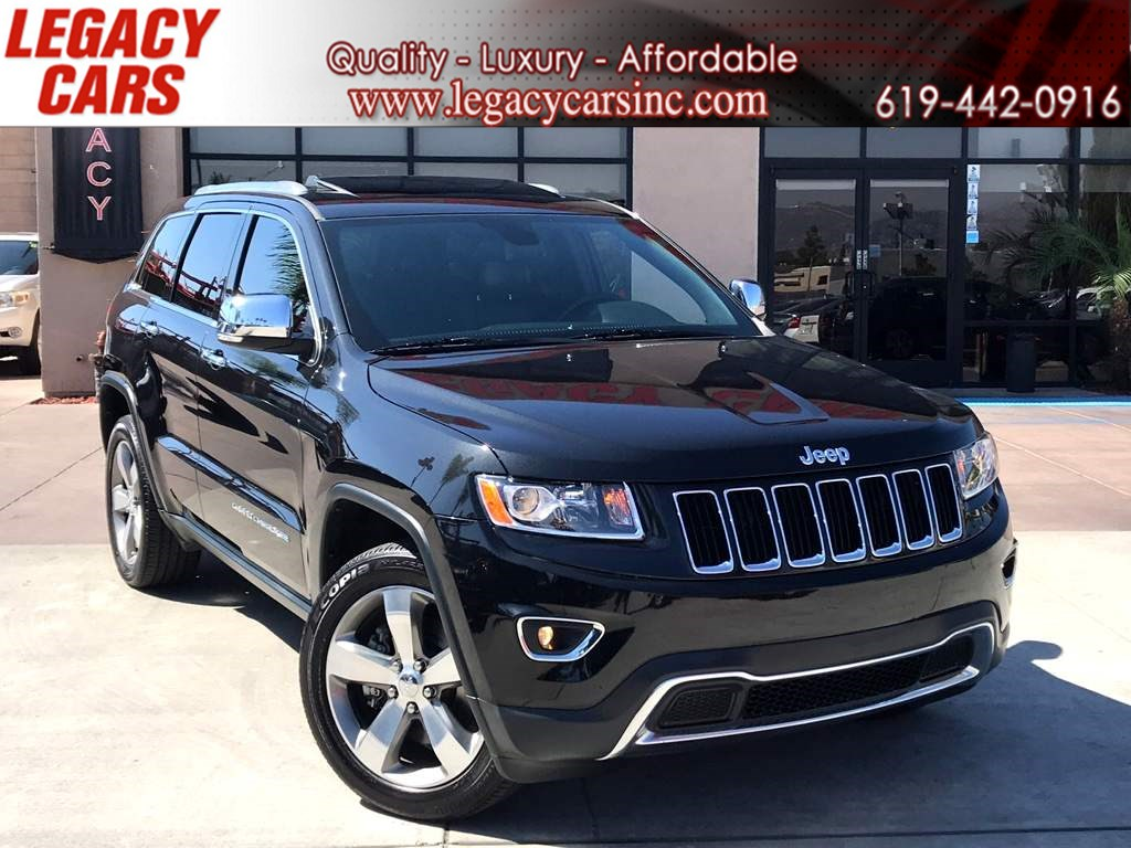 2016 Jeep Grand Cherokee Limited 4WD w/BACK-UP CAM/NAV/SUNROOF