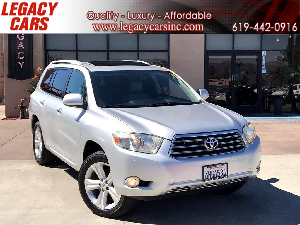 2009 Toyota Highlander Limited 3RD ROW w/NAV/BACK-UP CAM/SUNROOF