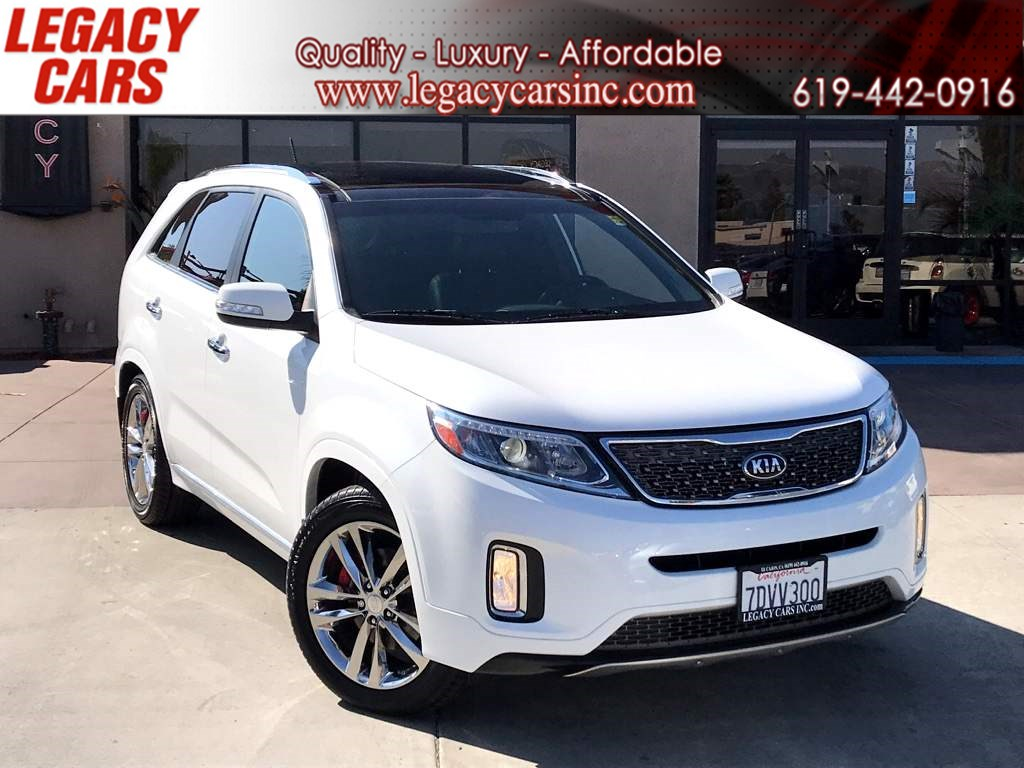 2014 Kia Sorento SX Limited w/PANO SUNROOF/BACK-UP CAM