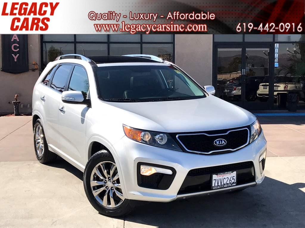 2013 Kia Sorento SX w/BACK-UP CAM/NAV/PANO SUNROOF