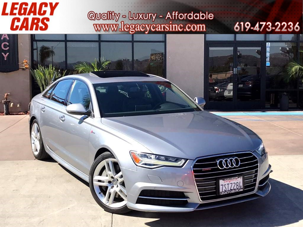 2016 Audi A6 3.0T quattro Premium AWD w/NAV/BACK-UP CAM/SUNROOF