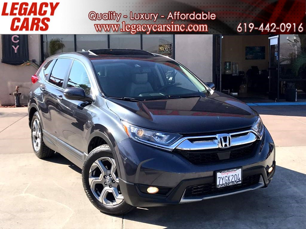 2017 Honda CR-V EX-L w/BACK-UP CAM/SUNROOF