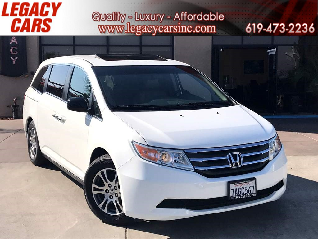2013 Honda Odyssey EX-L w/DVD/BACK-UP CAM/SUNROOF