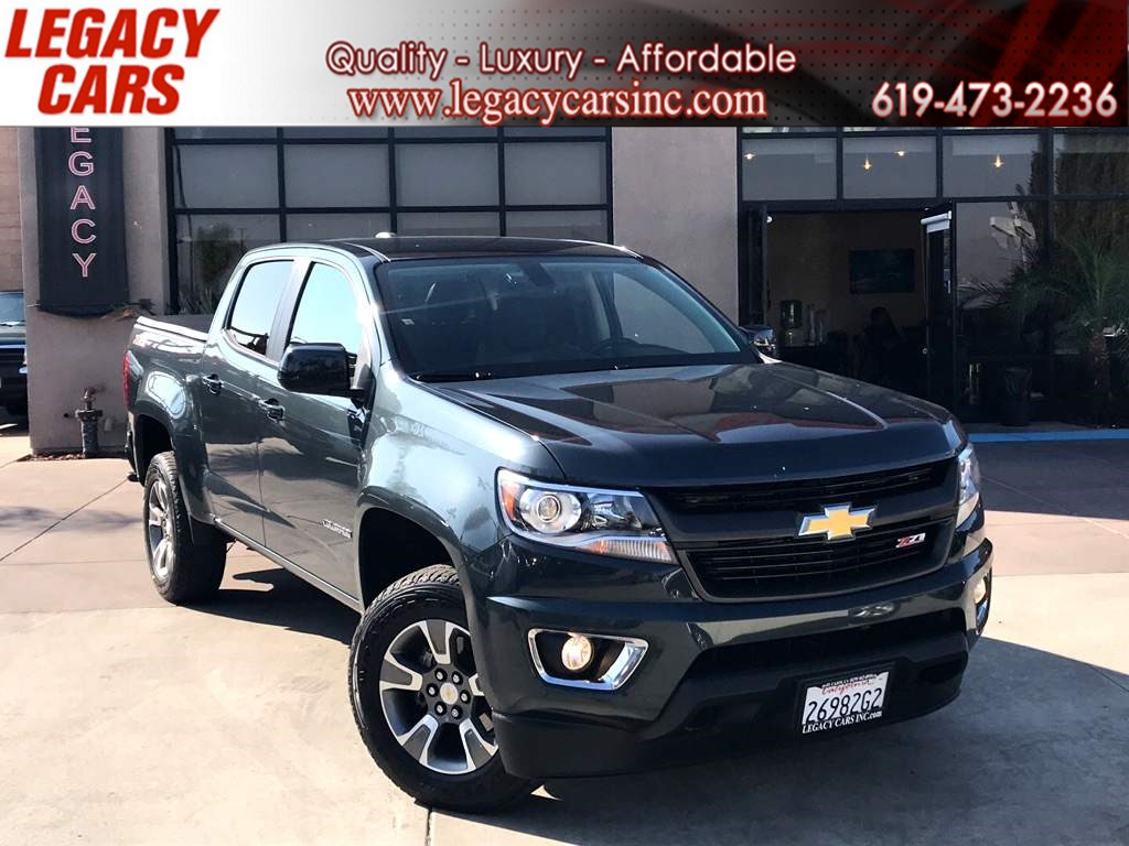 2017 Chevrolet Colorado 4WD Z71 CREW CAB