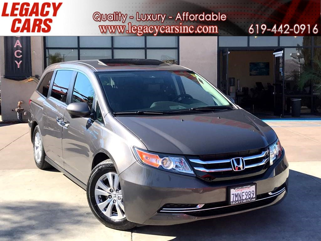 2015 Honda Odyssey EX-L 7 PASSENGER w/BACK-UP CAM/SUNROOF
