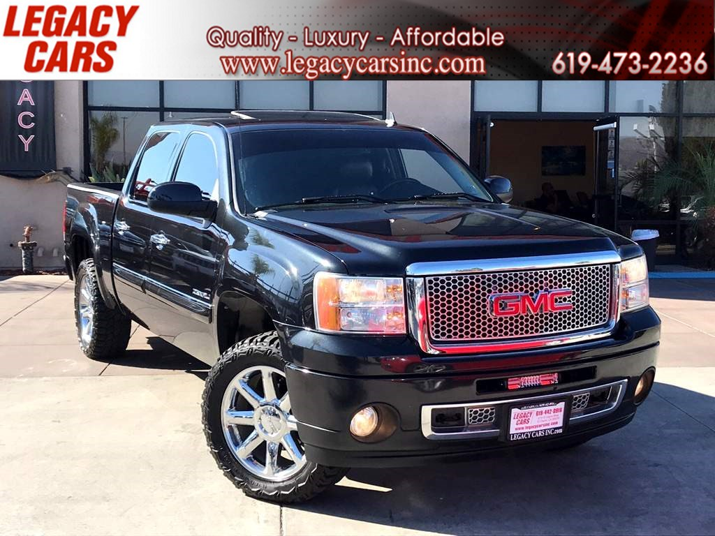 2010 GMC Sierra 1500 Denali AWD w/BACK-UP CAM/NAV/SUNROOF